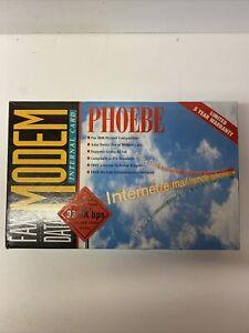Phoebe fax data modem Internal Card 33.6K bps