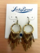 Lucky Brand Two tone Goldtone Earrings MSRP $35