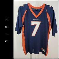 Nike Men Denver Broncos #7 John Elway Jersey Size Large L Blue