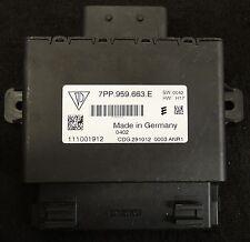 Porsche Boxster 981 991 Cayman ECU Voltage converter Start Stop 7PP 959 663 E