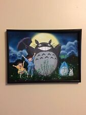 MY NEIGHBOUR TOTORO NEIGHBOR Framed Photo Poster Print A4 260gsm