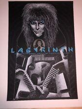 David Bowie Labyrinth Todd Slater Signed Artist Proof Black Poster Art Print