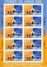TIMBRE FRANCE POSTE AERIENNE NEUF FEUILLET DU N° F65a ** AIRBUS A 300 COTE 100 €