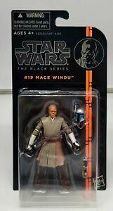 "Star Wars The Black Series Mace Windu 3.75"" Inch Figure Hasbro NIP"