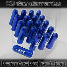 M12 x 1.5MM Thread Lightweight 7075 Aluminum Lug Nuts For Toyota Blue Set