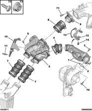 0345E5 Air Doser Induction Pipe Manifold Citroen & Peugeot 1.6Hdi