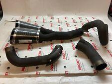 Set Exhaust Racing Termignoni Black For Ducati Diavel 1200 Used