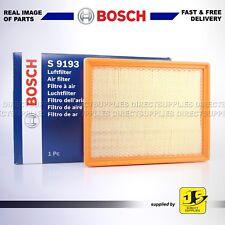 BOSCH AIR FILTER S9193 FITS CADILLAC SAAB 9-3 9-3X VAUXHALL SIGNUM VECTRA 2.8