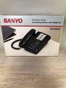 NOS Sanyo Answering System Machine With Telephone TAS 150CD Designer Series