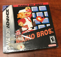 Super Mario Bros. Classic NES Series (Nintendo Game Boy Advance, 2004) SEALED