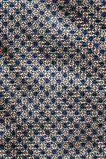 Corbata seda RALPH LAUREN Verde Azul Y Amarillo cabezas de flores una impresionante espectador ex-Cond