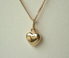 ECHT GOLD Herz Anhänger + Kette GOLD DOUBLE, für Kinder