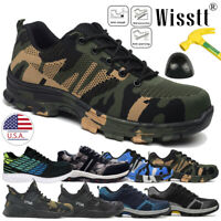 Men's Indestructible Bulletproof Safety Ultra X Protection Steel Toe Work Shoes