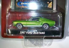 Greenlight 1967 Ford Mustang fastback green SPEED  new  pack American Muscle car