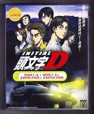 *NEW* INITIAL D COMPLETE *85 EPS/3 MOVIE*ENG SUBS*ANIME*US SELLER*FREE SHIPPING*