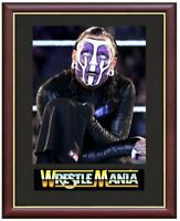 Jeff Hardy Wrestling Legend Mounted & Framed & Glazed Memorabilia Gift