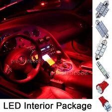 Deluxe Red SMD LED Lights Interior Package Kit FOR Ford F-150 2009 to 2014 9PCS