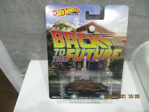 HOTWHEELS RARE BACK TO THE FUTURE FORD SUPER DE LUXE ALLOYS RUBBER TYRES   ```