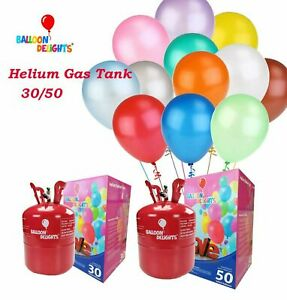 Helium Balloon Gas Cylinder Tank Canister Disposable Party Fills 30/50 Balloons