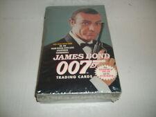 Sean Connery James Bond 007 Trading cards Sealed Box *RARE*