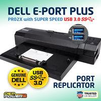 Dell USB 3.0 E-Port Plus E5270 E5470 E5570 E7270 E7470 PRO2X Docking Station