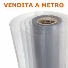 Vetro sintetico trasparente H 100 cm Spessore 0.25-0.75 mm Polilmark A METRAGGIO