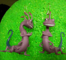 NORA WINN ~RANDALL~ BIG Earrings 925 SILVER HOOKS MONSTERS INC.