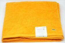 "Lacoste Legend 35"" x 70"" Supima Cotton Bath Sheet - Mandarin"