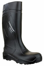 Dunlop Unisex Purofort C762042 Stivali in gomma Antinfortunistici sicurezza  45 Nero 390476a66fb