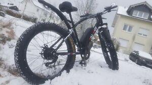 Fat-Bike, E-Bike, E Mountenbike, Elektro fahrrad 26 Zoll Akku 48V/10AH