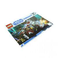 1x Lego Bauanleitung Nr 1 für Star Wars Clone Wars Republic Attack Shuttle 8019