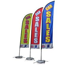 Car Sales Flags 320 x 60 cm  - The Most sold in United Kingdom -