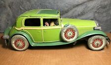 """Mettoy   Pre 1946   14"""" Large Limousine   Light Up Headlights   Sun Roof   Spare"""