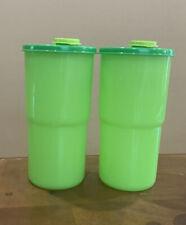 Tupperware Thirstquake Tumblers Set Of 2-30 Oz Each.