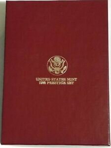 1988-S US Mint Prestige Set including Olympiad Silver Dollar - Olympic