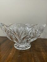 """Marquis By Waterford Crystal Bowl Scalloped 10"""""""