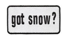 Got Snow Skiing Skier Snowboard Ski Winter Shirt Patch Badge 9.5cm