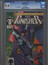 Punisher #1 CGC 9.4 (1987) White Pages Mike Baron Klaus Janson