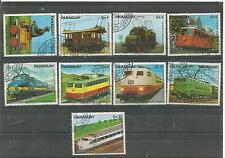 Paraguay RAILWAY Stamped