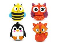 Cute Animals Cartoon Model USB2.0 8GB-64GB flash drive memory stick pendrive