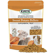 Sweet Potato Pellets (1.75 lb.) - Healthy Treat - Chinchilla, Guinea Pig, Rabbit
