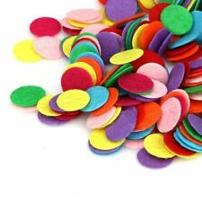 100Pcs Round Felt Fabric Pad Patches Non Woven Fabric Flower Accessories 3Cm