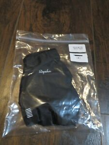 2020 RAPHA EF Pro Cycling Team Road Race Gloves Mitts Pad Medium M Black LIMITED