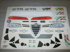 Alfa Romeo 156 GTA Aufkleber Decal Sticker Set Karo Karosse Karosserie 1:5