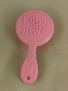 """Baby Alive Doll Pink Brush 4"""" Pretend Play"""