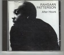 (HJ473) Rahsaan Patterson, After Hours - 2004 CD