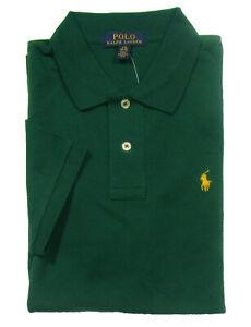 Polo Ralph Lauren Boys Green Cotton Short Sleeve Polo Shirt