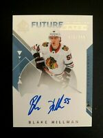 2018-19 SP Authentic #154 Blake Hillman FW AU/949* RC