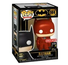 FUNKO BATMAN VINYL RED SUIT 80 YEARS #144 TARGET EXCLUSIVE