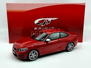 GT Spirit BMW M235i Coupe Melbourne Red GT039 1:18 Scale - New